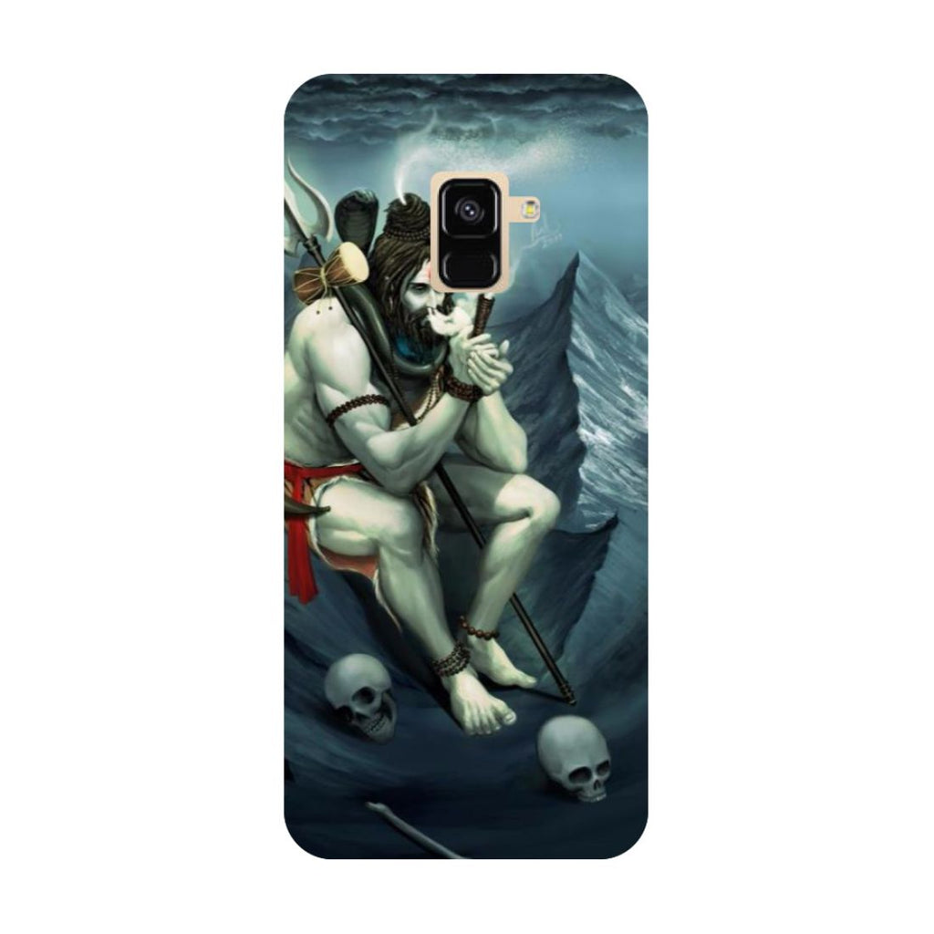 Aghori- Printed Hard Back Case Cover for Samsung Galaxy A6 (2018)