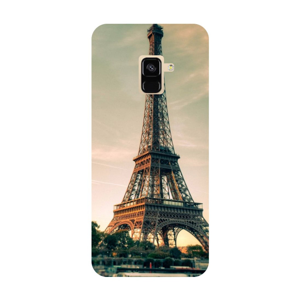 Eiffel- Printed Hard Back Case Cover for Samsung Galaxy A6 (2018)-Hamee India