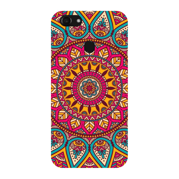 Tribal Pattern Vivo Y83 Back Cover-Hamee India