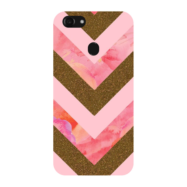 Hamee - Stripe Pattern - Designer Printed Hard Back Case Cover for Oppo F5