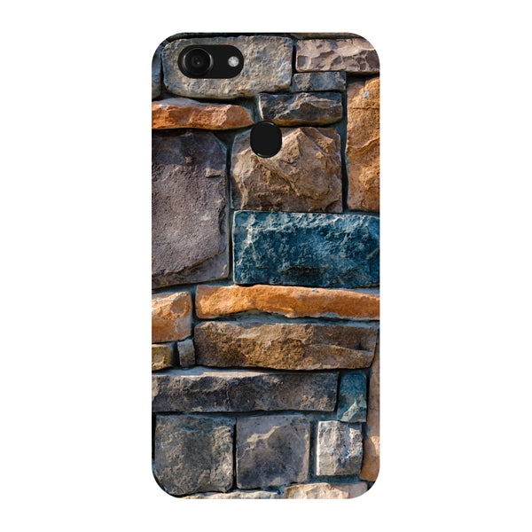 Hamee - Stones - Designer Printed Hard Back Case Cover for Oppo F5