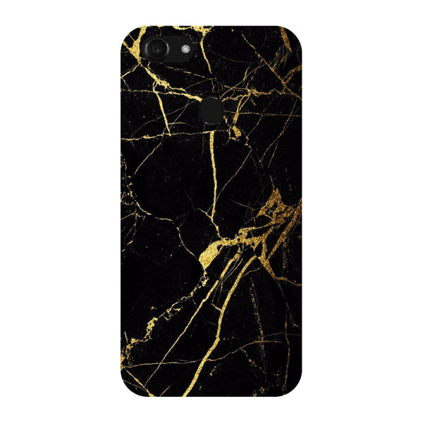 Hamee - Crack Marble - Designer Printed Hard Back Case Cover for Oppo F5