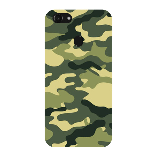 Hamee - Camouflage - Designer Printed Hard Back Case Cover for Oppo F5