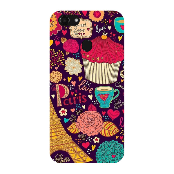 Hamee - Buns & Muffins - Designer Printed Hard Back Case Cover for Oppo F5