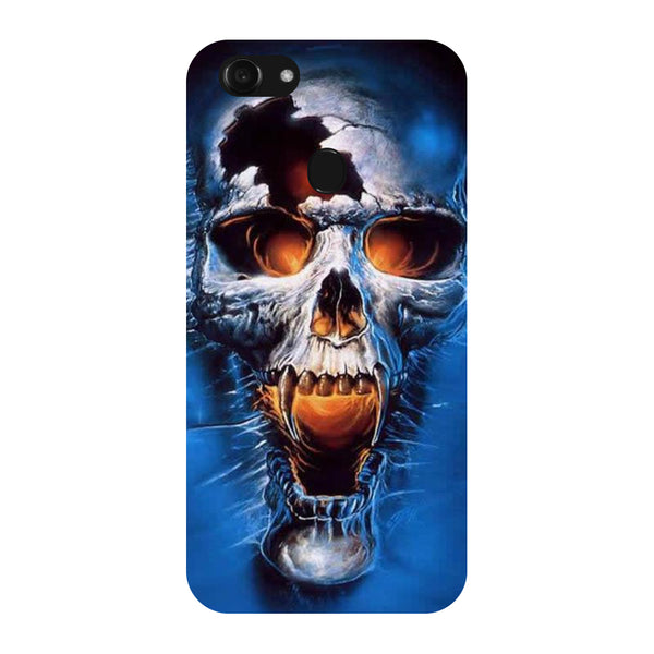 Hamee - Skull - Designer Printed Hard Back Case Cover for Oppo F5
