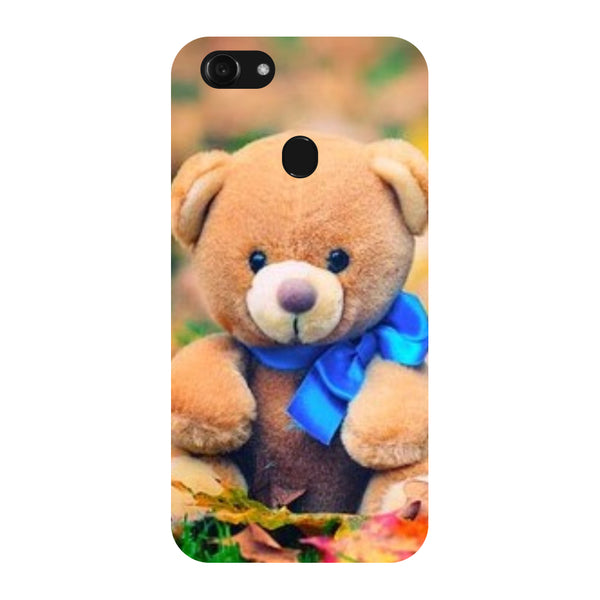 Hamee - Teddy - Designer Printed Hard Back Case Cover for Oppo F5