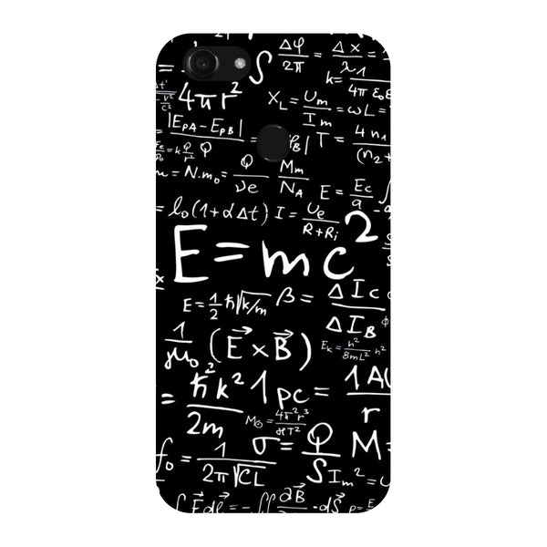 Hamee - E=MC2 - Designer Printed Hard Back Case Cover for Oppo F5