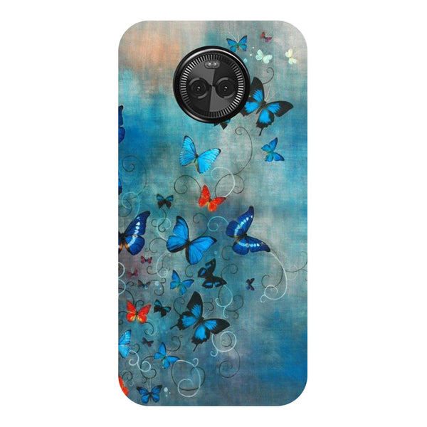 Hamee - Floating Buds - Designer Printed Hard Back Case Cover for Moto X4