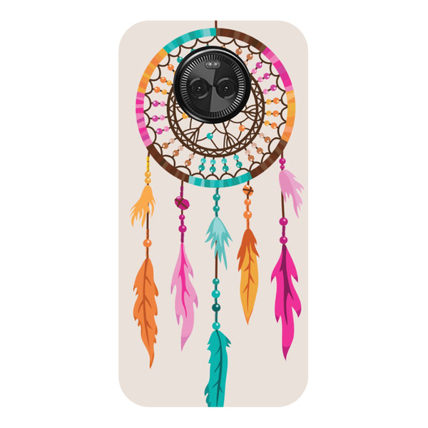 Hamee - Stripes of Heart - Designer Printed Hard Back Case Cover for Moto X4