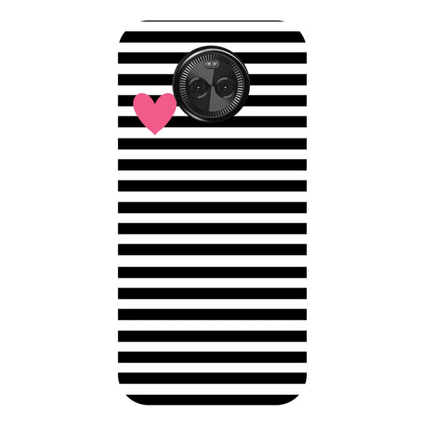 Hamee - S Name - Designer Printed Hard Back Case Cover for Moto X4