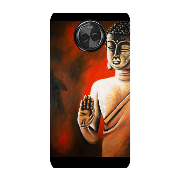 Hamee - Yellow Peacock - Designer Printed Hard Back Case Cover for Moto X4