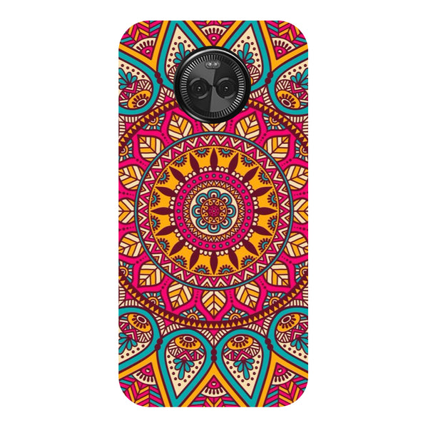 Hamee - Tribal Pattern - Designer Printed Hard Back Case Cover for Moto X4