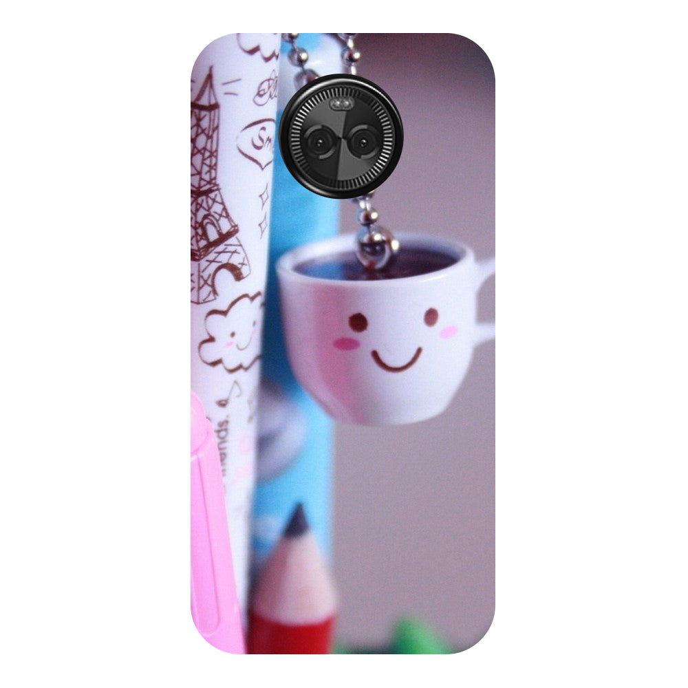 Hamee - Cups - Designer Printed Hard Back Case Cover for Moto X4-Hamee India