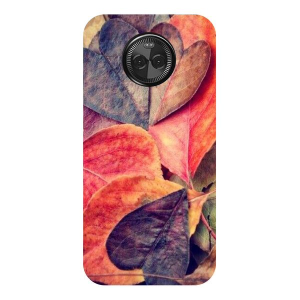 Hamee - Marble - Designer Printed Hard Back Case Cover for Moto X4