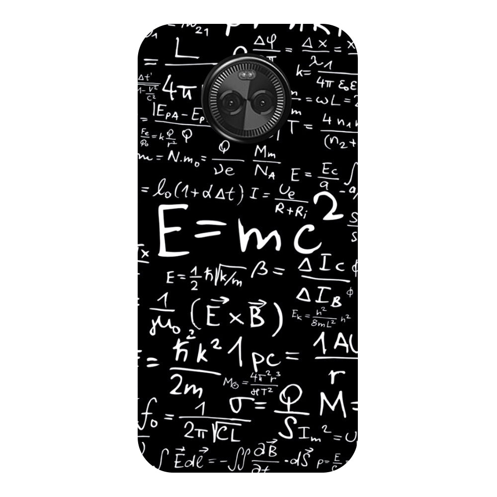 Hamee - E=MC2 - Designer Printed Hard Back Case Cover for Moto X4-Hamee India