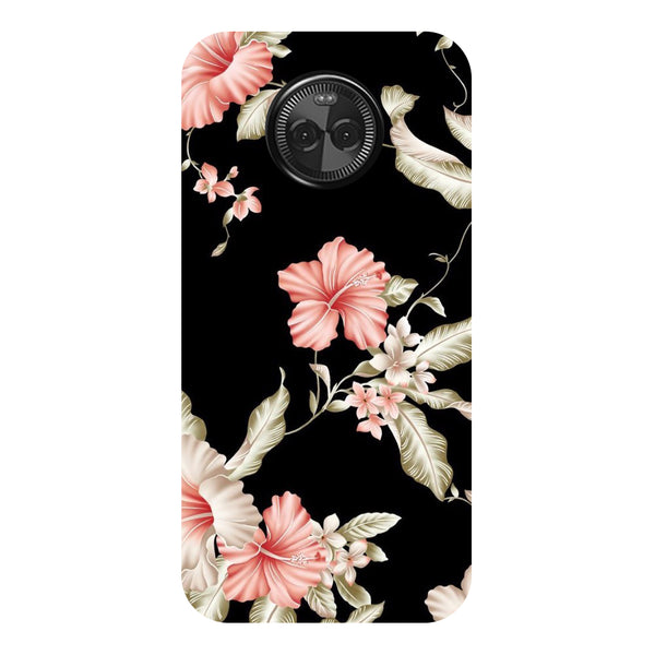 Hamee - Water Smog - Designer Printed Hard Back Case Cover for Moto X4