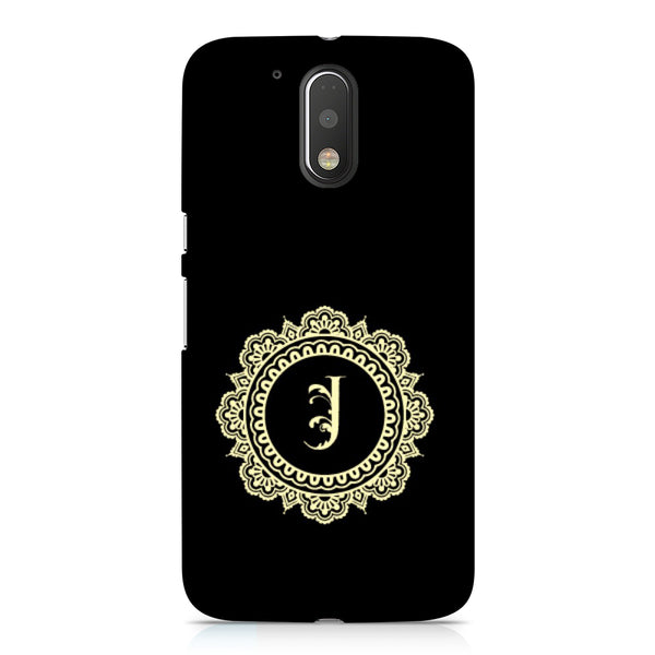 Hamee - Alphabet 'J' - Designer Printed Hard Back Case Cover for Xiaomi Redmi Note 4-Hamee India