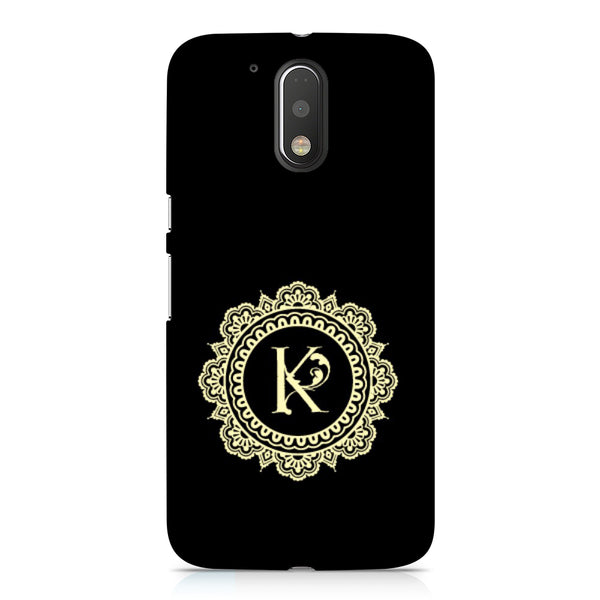 Hamee - Alphabet 'K' - Designer Printed Hard Back Case Cover for Xiaomi Redmi Note 4-Hamee India