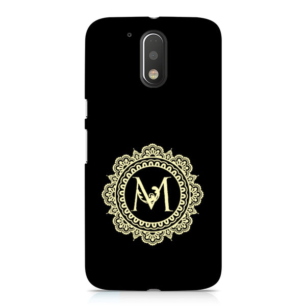 Hamee - Alphabet 'M' - Designer Printed Hard Back Case Cover for Xiaomi Redmi Note 4-Hamee India