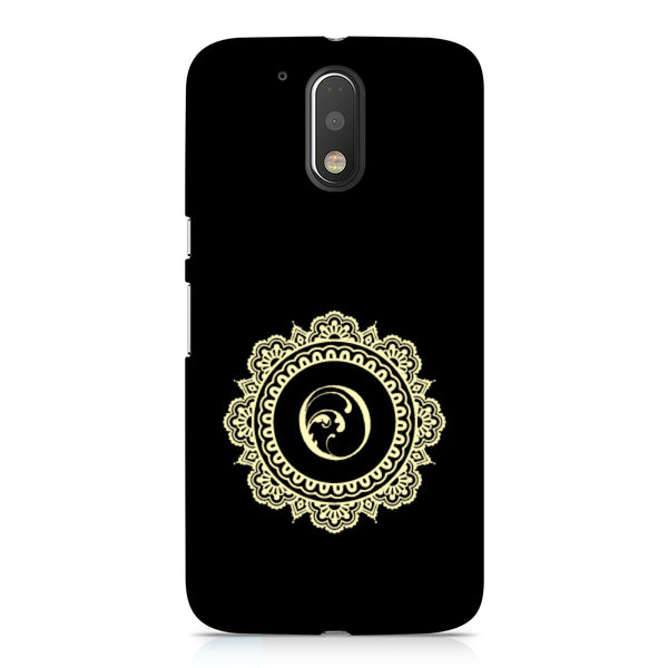Hamee - Alphabet 'O' - Designer Printed Hard Back Case Cover for Xiaomi Redmi Note 4-Hamee India