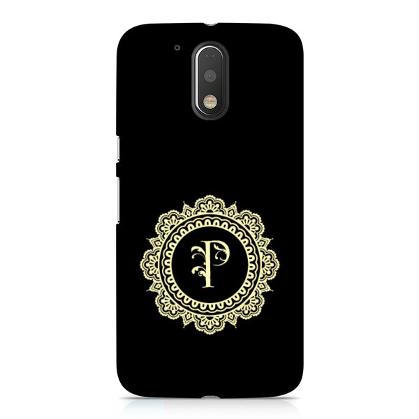 Hamee - Alphabet 'P' - Designer Printed Hard Back Case Cover for Xiaomi Redmi Note 4-Hamee India