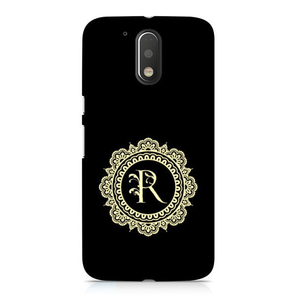 Hamee - Alphabet 'R' - Designer Printed Hard Back Case Cover for Xiaomi Redmi Note 4-Hamee India
