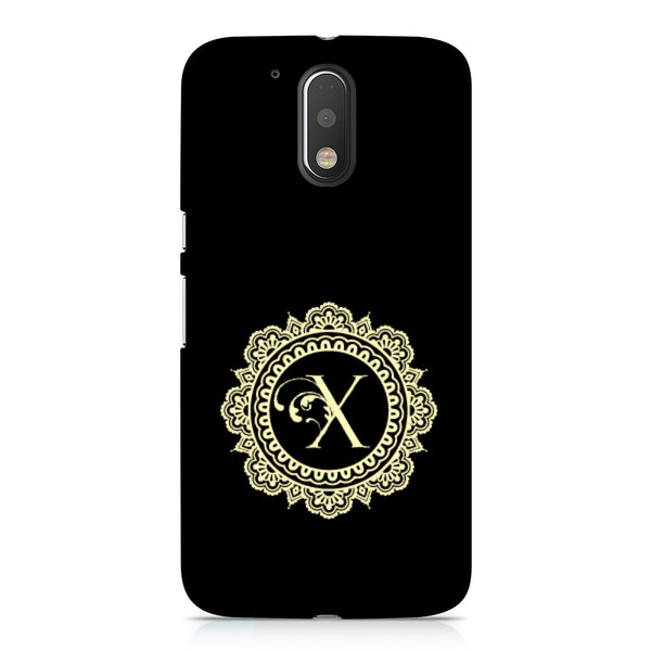 Hamee - Alphabet 'X' - Designer Printed Hard Back Case Cover for Xiaomi Redmi Note 4-Hamee India