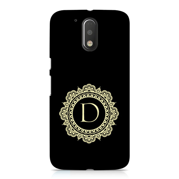 Hamee - Alphabet 'D' - Designer Printed Hard Back Case Cover for Xiaomi Redmi Note 4-Hamee India