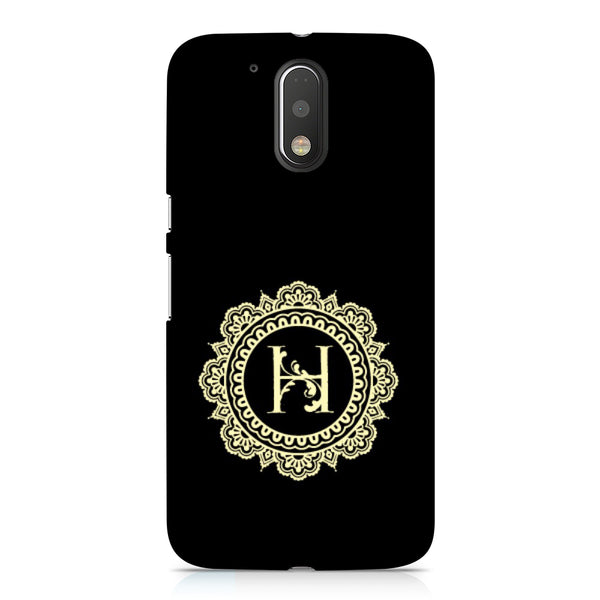 Hamee - Alphabet 'H' - Designer Printed Hard Back Case Cover for Xiaomi Redmi Note 4-Hamee India