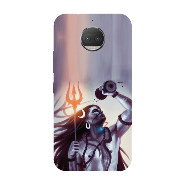 Hamee - Shiv Dumru - Designer Printed Hard Back Case Cover for Moto G5s Plus