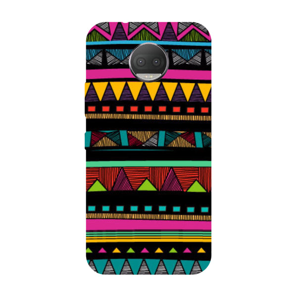 Hamee - Tribal Pattern - Designer Printed Hard Back Case Cover for Moto G5s Plus
