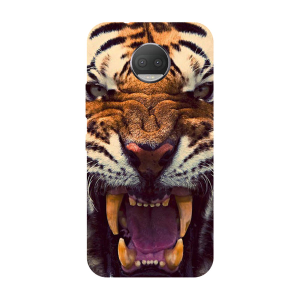 Hamee - Tiger - Designer Printed Hard Back Case Cover for Moto G5s Plus