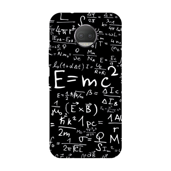 Hamee - E=MC2 - Designer Printed Hard Back Case Cover for Moto G5s Plus