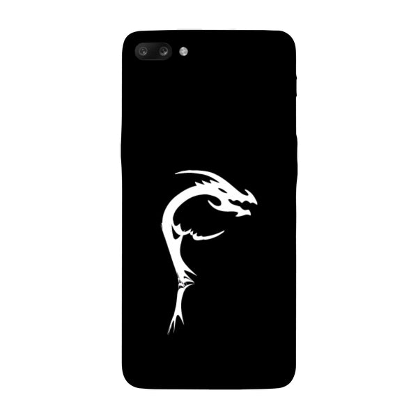 Hamee - Dragon Alphabet 'F' - Printed Hard Back Case Cover for Oppo R11-Hamee India