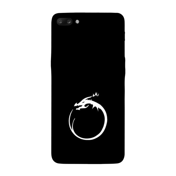 Hamee - Dragon Alphabet 'O' - Printed Hard Back Case Cover for Oppo R11-Hamee India