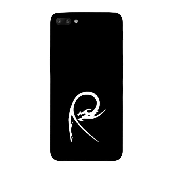 Hamee - Dragon Alphabet 'R' - Printed Hard Back Case Cover for Oppo R11-Hamee India