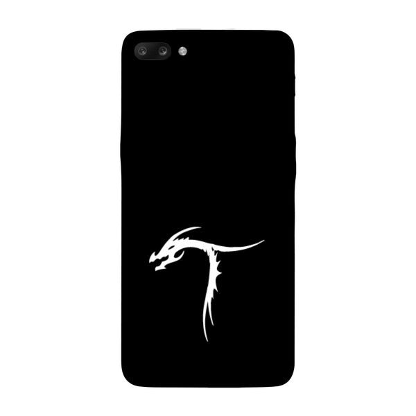 Hamee - Dragon Alphabet 'T' - Printed Hard Back Case Cover for Oppo R11-Hamee India