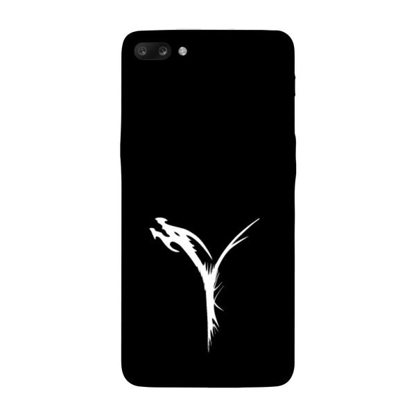 Hamee - Dragon Alphabet 'Y' - Printed Hard Back Case Cover for Oppo R11-Hamee India