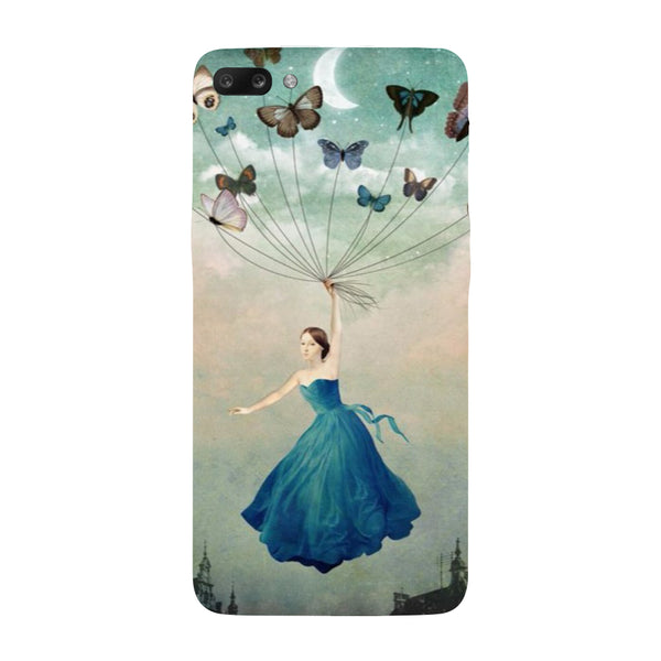 Hamee - Butterflies - Designer Printed Hard Back Case Cover for Oppo R11-Hamee India