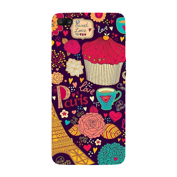 Hamee - Buns & Muffins - Designer Printed Hard Back Case Cover for Oppo R11-Hamee India