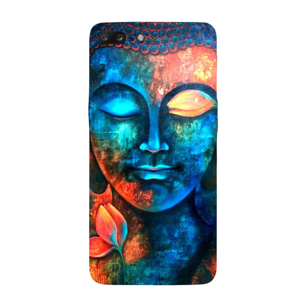 Hamee - Buddha - Designer Printed Hard Back Case Cover for One Plus 5