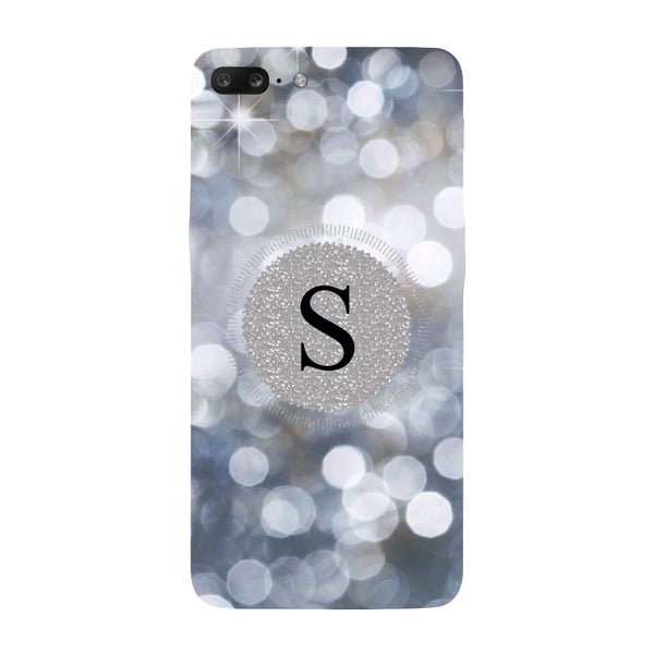Hamee - S Name - Designer Printed Hard Back Case Cover for One Plus 5