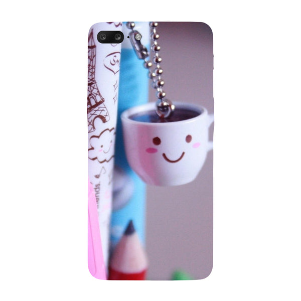 Hamee - Cups - Designer Printed Hard Back Case Cover for One Plus 5
