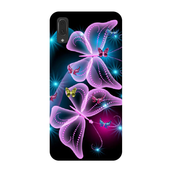 Gradient butterfly Vivo V11 Pro Back Cover-Hamee India