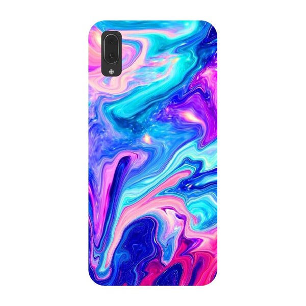 Abstract paint Vivo V11 Pro Back Cover-Hamee India