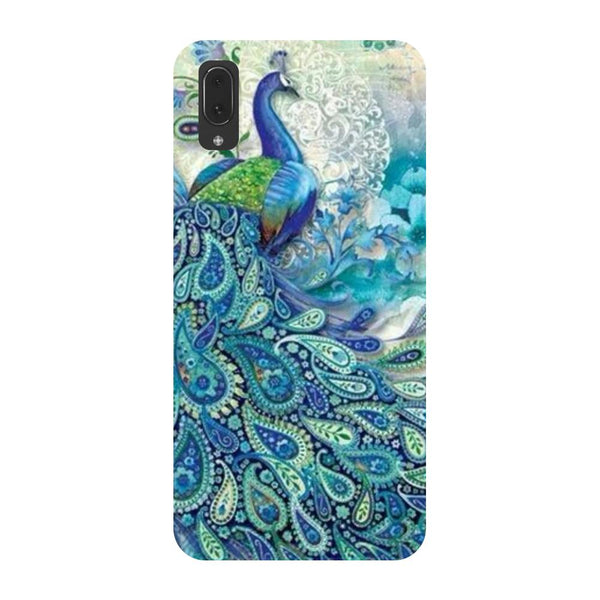 Blue peacock Vivo V11 Pro Back Cover