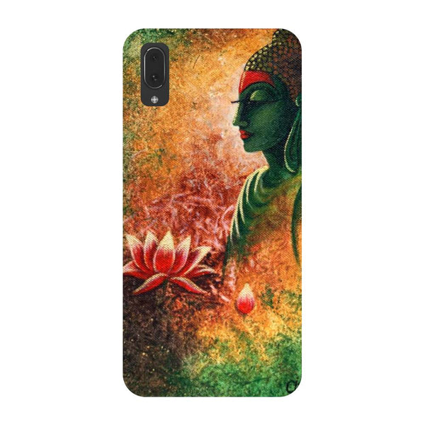 Buddha side pose Vivo V11 Pro Back Cover
