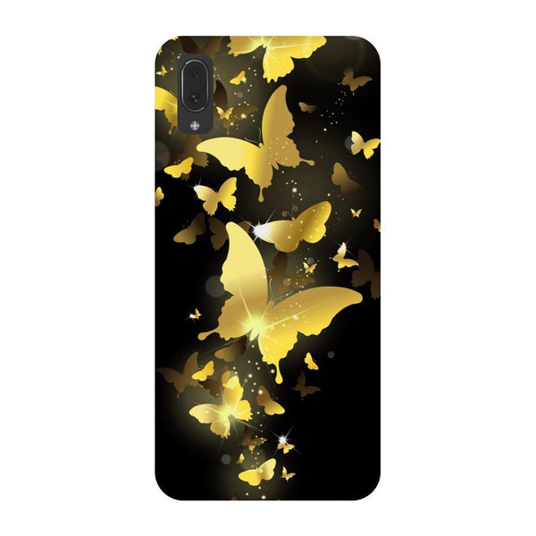 Golden Butterflies Vivo V11 Pro Back Cover-Hamee India