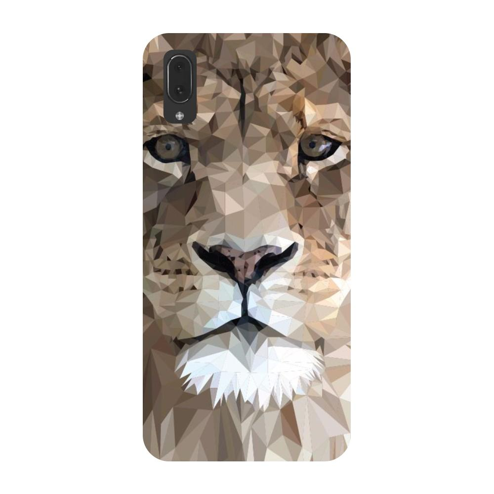 Lion abstract Vivo V11 Pro Back Cover-Hamee India
