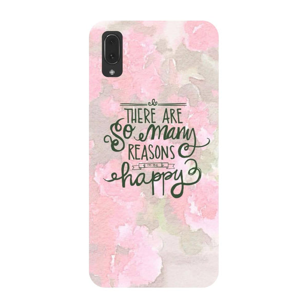 Be Happy Vivo V11 Pro Back Cover